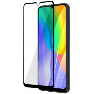 9H Härtegrad Displayschutzfolie Huawei Y6p/Honor 9A â€? Rand Schwarz
