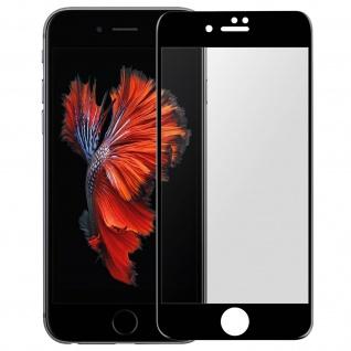 Premium Schutzfolie für Apple iPhone 6, iPhone 6S mit Blickschutz - Schwarz