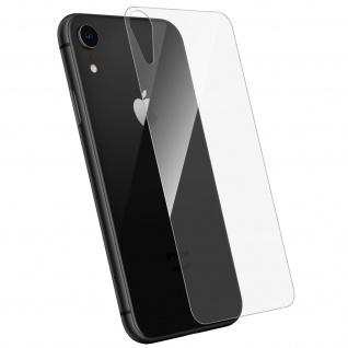 Rückseite Schutzfolie Apple iPhone XR, 2.5D voller Schutz - Transparent