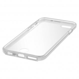 Zweiteilige Schutzhülle Silikon/Polycarbonat für iPhone 6/ 6S - Transparent