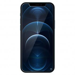 Apple iPhone 12 Pro Max Displayschutz Blaulichtfilter, Force Glass ? Transparent