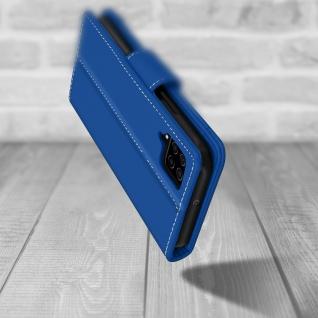 Samsung Galaxy A42 5G Klapphülle mit Portemonnaie - Blau - Vorschau 5