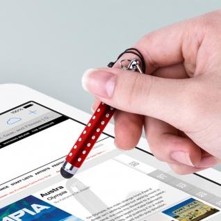 Ausziehbarer Eingabestift für Touchscreen 3.5 Klinkenstecker - Rot - Vorschau 5