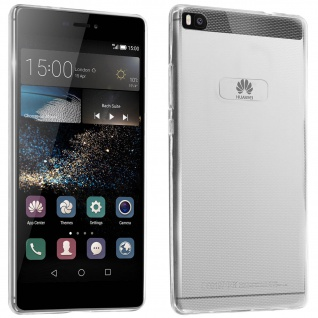 Huawei P8 Schutzhülle Silikon Second Skin - Transparent