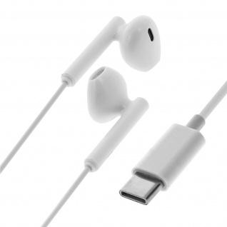 USB-C Headset Smartphone/Tablet Mikrofon & Fernbedienung - Weiß