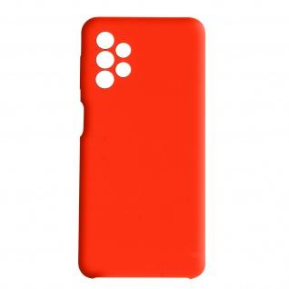 Venus Series halbsteife Soft-Touch Silikonhülle für Samsung A32 5G ? Rot