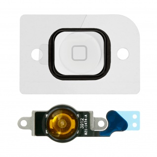 Ersatzteil Home Taste mit Flexkabel für Apple iPhone 5 Weiß