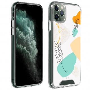 Handyhülle für iPhone 11 Pro, Made in France ? Lorbeerblatt Design