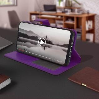 Flip Stand Cover Brieftasche & Standfunktion für Samsung Galaxy A50 - Violett - Vorschau 4