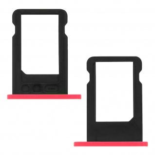 Nano-Sim-Ersatz-Kartenhalter für Apple iPhone 5C - Rose - Vorschau 2
