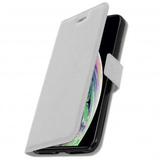 Flip Stand Cover Brieftasche & Standfunktion Apple iPhone XS Max - Weiß - Vorschau 2