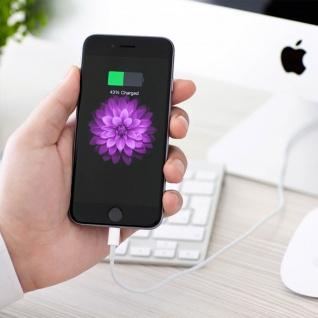 Ladekabel iPhone/iPad/ USB ? Kabellänge: 1m ? Weiß - Vorschau 4