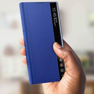 Original Samsung Clear View Cover für Samsung Galaxy Note 10 Plus - Blau - Vorschau 5