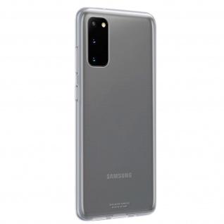Original Samsung Clear Cover, Silikonhülle für Samsung Galaxy S20 - Transparent