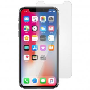 Displayschutzfolie aus gehärtetem Glas für Apple iPhone X/XS/11 Pro - 9H