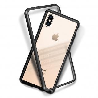 Apple iPhone XS Max Bumper magnetische Hülle ? Transparent