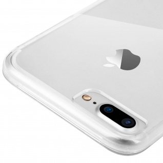 Schutzhülle für Vorder- und Rückseite Apple iPhone 7 Plus, 8 Plus ? Transparent - Vorschau 5