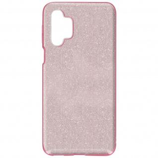 Schutzhülle, Glitter Case für Samsung Galaxy A32 5G, shiny & girly Hülle â€? Rosa