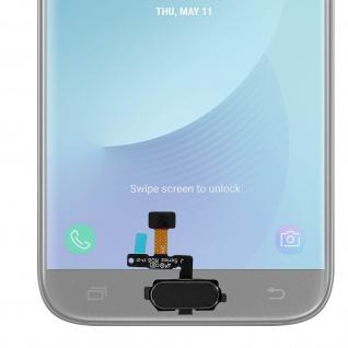 Ersatzteil Haupttaste mit Flexkabel für Samsung Galaxy J5 2017 Schwarz