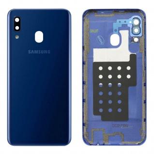 Ersatzteil Akkudeckel, neue Rückseite für Samsung Galaxy A20e - Blau