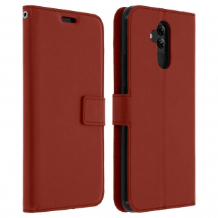 Flip Stand Cover Brieftasche & Standfunktion Huawei Mate 20 lite - Braun