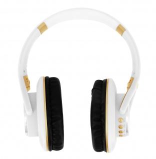 LKD900 Stereo Bluetooth Headset mit Multifunktionstaste & Mikrofon - Weiß
