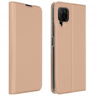 Klappetui mit Kartenfach & Standfunktion Huawei P40 Lite - Rosegold