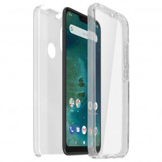 Schutzhülle für Xiaomi Mi A2 Lite, Vorder- + Rückseite ? Transparent