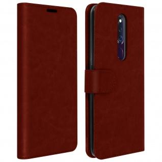 Flip Stand Case Brieftasche & Standfunktion Oppo F11 Pro - Braun