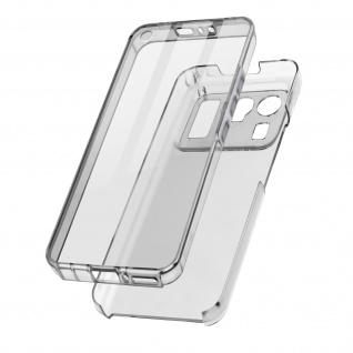 Schutzhülle für Xiaomi Mi 11 Ultra, Vorder- + Rückseite ? Transparent