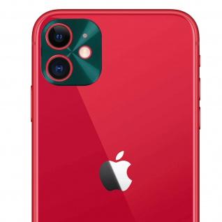 Apple iPhone 11 Rückkamera Schutzfolie aus 9H Panzerglas, Ölabweisend.