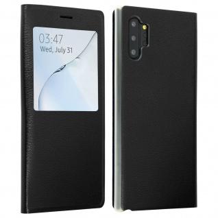 S-View Flip Cover mit Sichtfenster & Kartenfach Galaxy Note 10 Plus - Schwarz