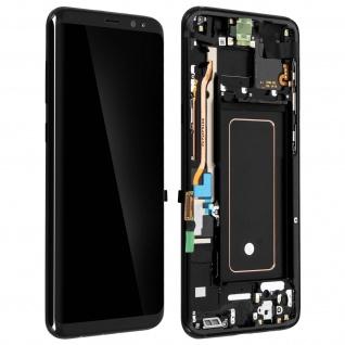 Original Samsung LCD Komplettset Samsung Galaxy S8 Plus + Touchscreen - Schwarz