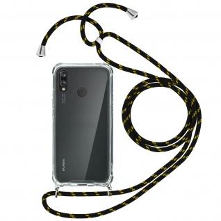 Handykette Handyhülle mit Halsband für Huawei P20 Lite - Gelb