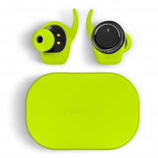Bluetooth 5.0 in-ear Kopfhörer mit Ladebox, Anruf & Musik, by Forever ? Grün