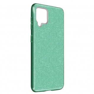 Schutzhülle, Glitter Case für Samsung Galaxy A42 5G, shiny & girly Hülle â€? Grün