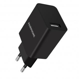Original Fairphone USB 3.0 Netzteil, 18W Kompaktes Ladegerät â€? Schwarz