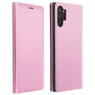 Flip Book Cover, Klappetui aus Kunstleder für Samsung Galaxy Note 10 Plus â€? Rosa