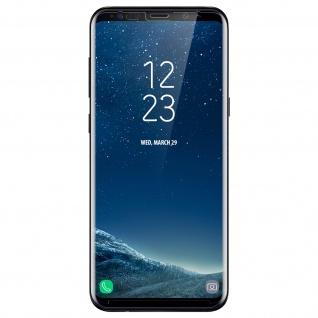 Displayschutzfolie aus Glas Samsung Galaxy S8 Plus - Abgerundete Kanten