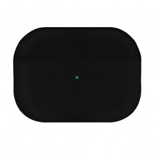 AirPods Pro Silikonhülle mit Soft-Touch Oberfläche QI-Kompatibel - Schwarz