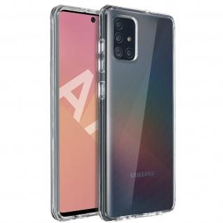 Crystal Schutzhülle + Bumper cover für Samsung Galaxy A71 â€? Transparent