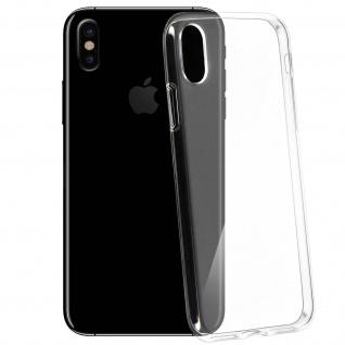 Apple iPhone X Ultra-Clear dünne Schutzhülle aus Silikon ? Transparent