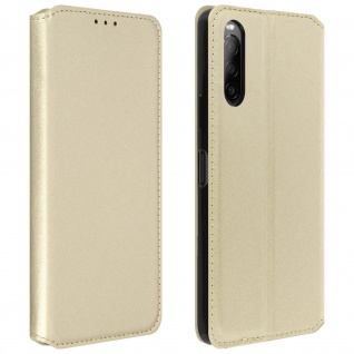 Kunstleder Cover Classic Edition Sony Xperia 10 II - Gold