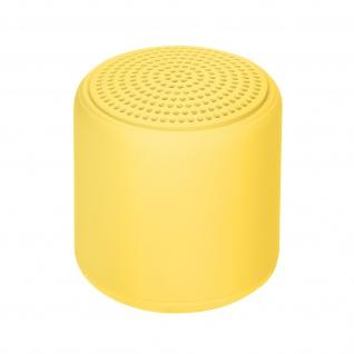 Little Fun Collection 3W Bluetooth Mini Lautsprecher 3Std. Akkulaufzeit ? Gelb