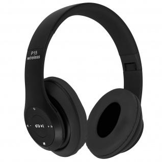 Audio Kabelloser Over-ear Kopfhörer Bluetooth 4.0/ 3.5 Klinkenstecker - Schwarz