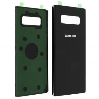 Akkudeckel Samsung Galaxy Note 8 Original Samsung Rückseite - Schwarz