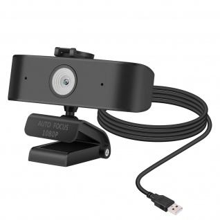 PC / Computer Full HD 1440P USB-Webcam mit Autofokus ? Schwarz