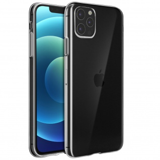 Apple iPhone 12 Pro Max Schutzhülle Silikon Second Skin ? Transparent