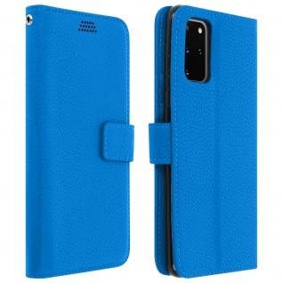 Samsung Galaxy S20 Plus Flip-Cover mit Kartenfächern & Standfunktion â€? Blau