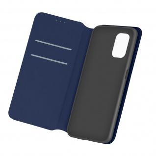 Kunstleder Cover Classic Edition Xiaomi Redmi Note 10 / Note 10s � Dunkelblau